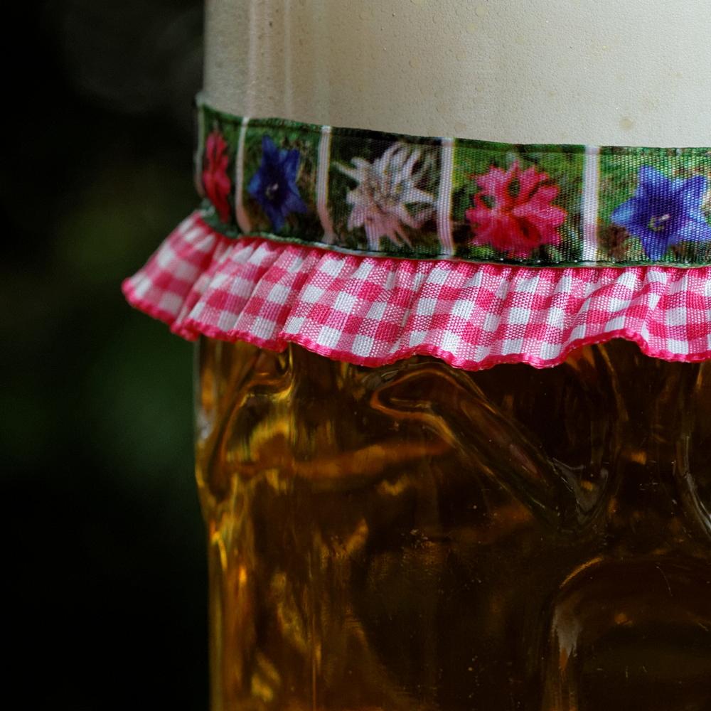 Vronikaa Maßkrugband Blumen