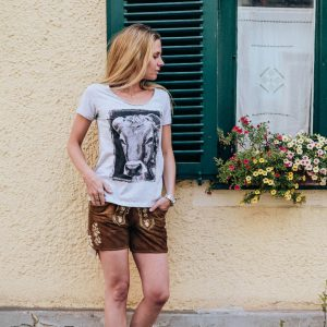 Vronikaa Shirt Allgäuer Kuh Damen