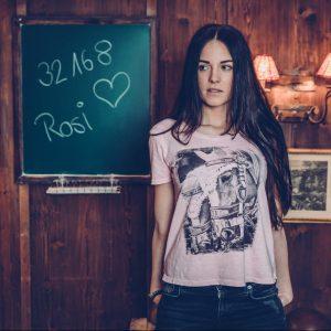 Vronikaa Shirt Pferde Rose