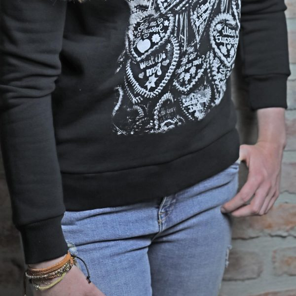 Vronikaa Shirt Sweatshirt Herzen