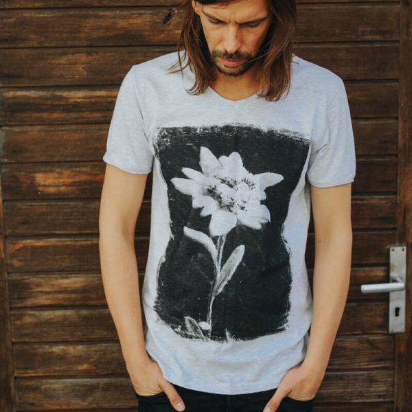 Vronikaa Shirt Edelweiß Herren