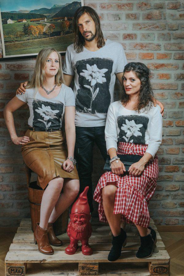 Vronikaa Shirt Edelweiß Trio