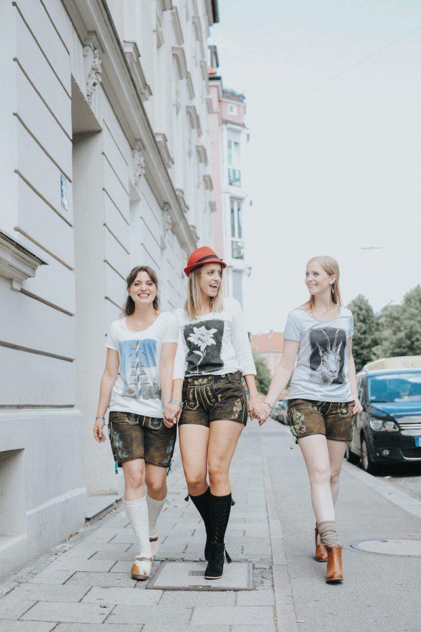 Vronikaa Shirt drei Mädels