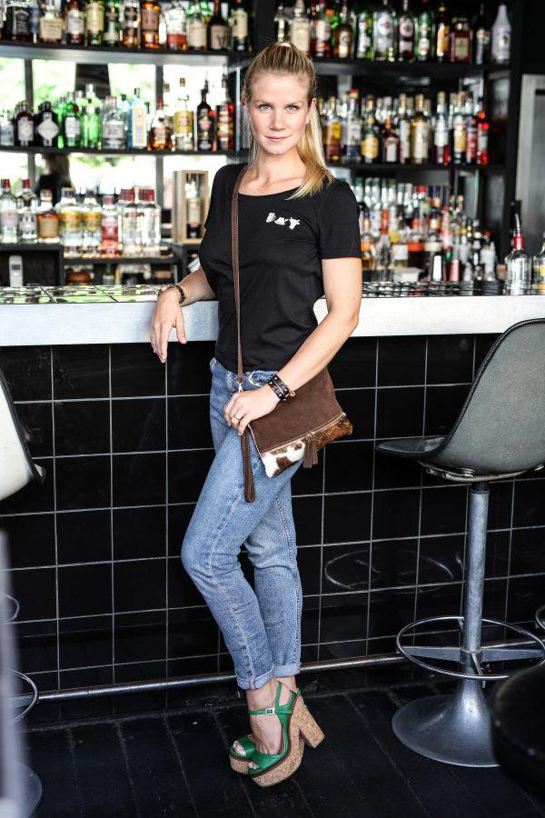 Vronikaa Resi Schwarz Shirt