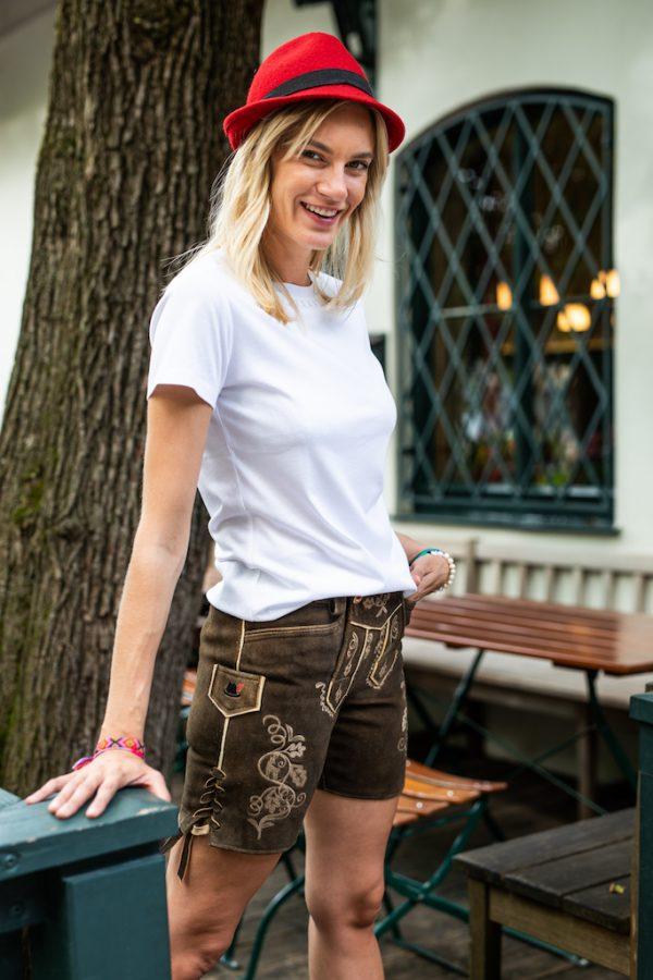 Vronikaa Lederhose Lady Bavaria Shirt Anny