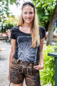 Vronikaa Lederhose Miss Therese Shirt Riesenrad